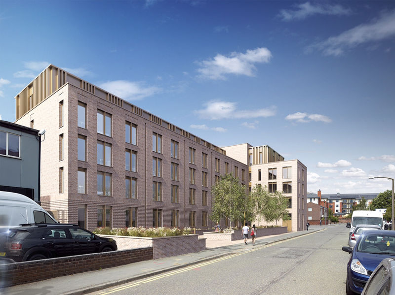 Chester studentenflats