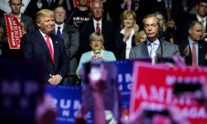 Trump and Farage: soulmates