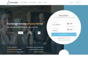 currencyfair helpt goedkoop omzetten