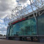 Old Trafford Manchester united - toneel van een vatsgoedbeurs