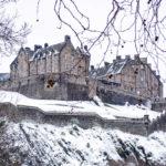 Het kasteel van Edinburgh. Niet te koop, wel te bezoeken.